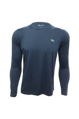 camiseta acqua light uv masculina longa preta