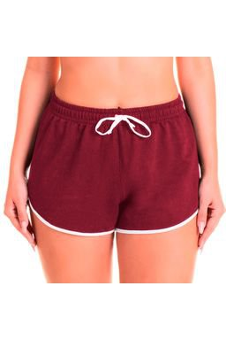 short bordo frente